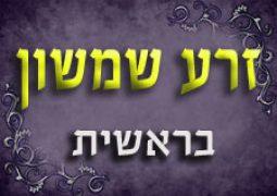 זרע שמשון בראשית