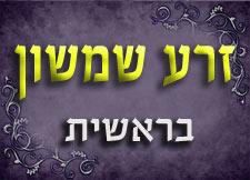 זרע שמשון | חומש בראשית